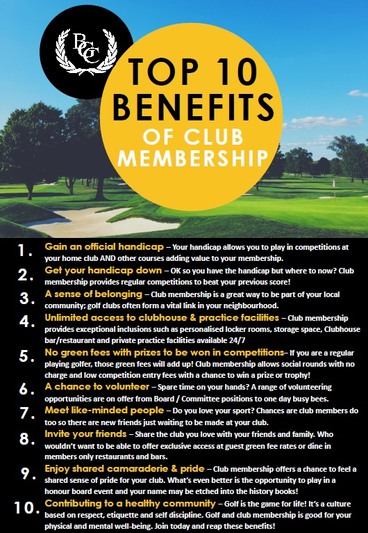 top 10 membership benefits